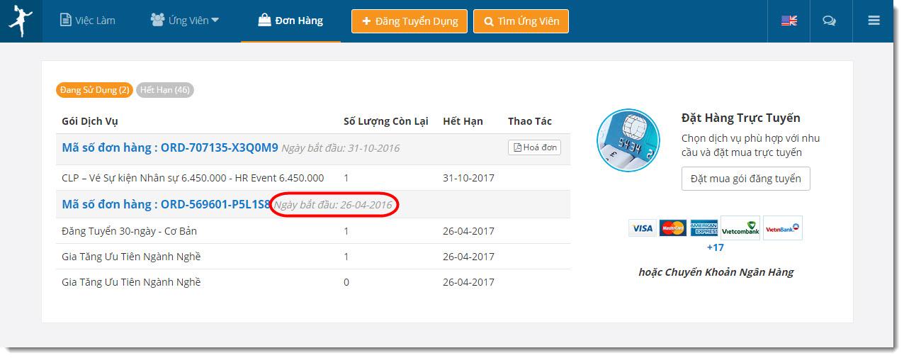 E-invoice before 0815 VietnamWorks VIET